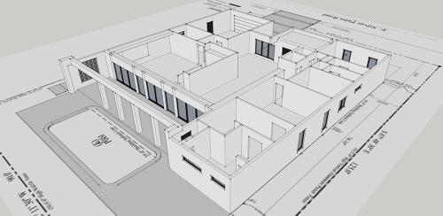 3D modeling process