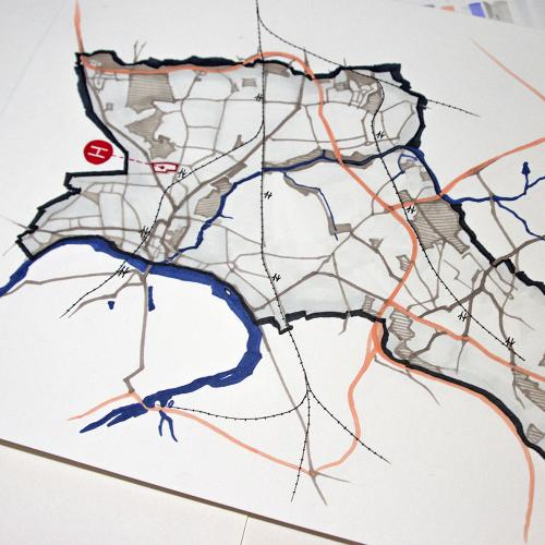 Map drawing